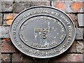 SJ8894 : Bridge 13 plaque by David Dixon