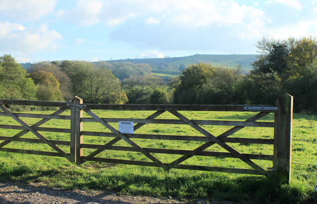 2012 : Double five bar gate on the road to Spargrove