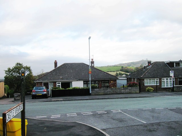 Castleview Road, (Mow Cop Castle)
