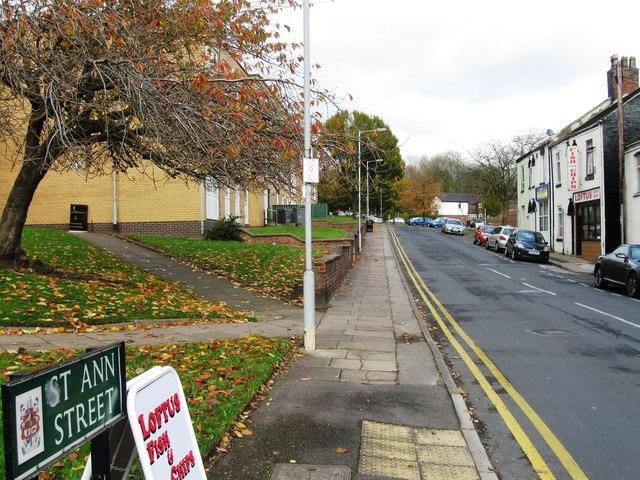 St Ann Street, Hanley