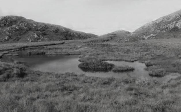 Tiny unnamed lochan near Meall Buidhe Beag