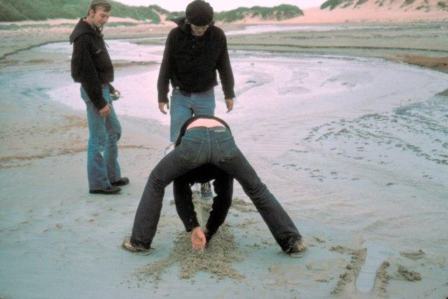 Dunnet Beach - 1975