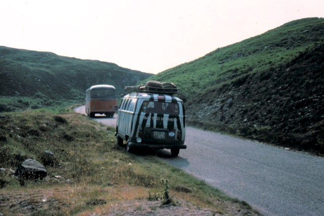A836 near Skelpick - 1975