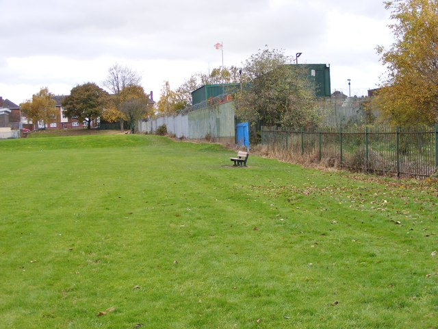 Hilton Playing Field Scene