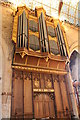 SK9136 : Organ, St Wulfram's church, Grantham by J.Hannan-Briggs