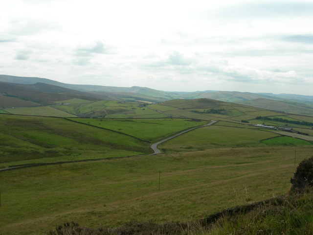 Monk's Road from Cown Edge