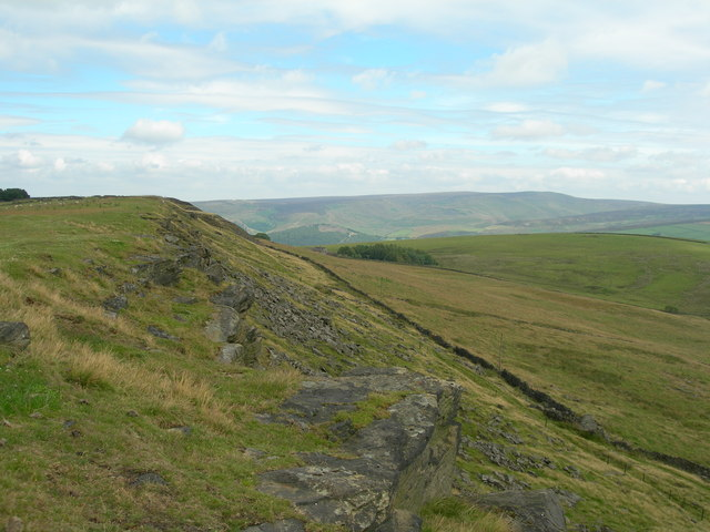Cown Edge Rocks (north section)