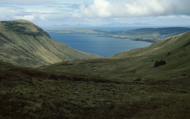 View from head of Glen Guirdil