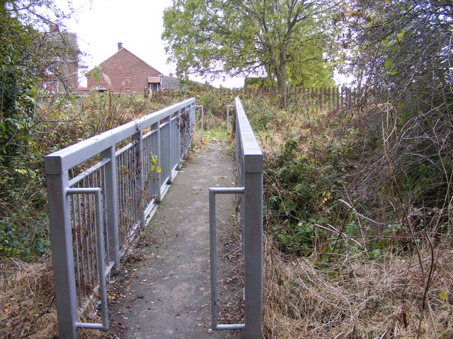Hilton Brook Footbridge