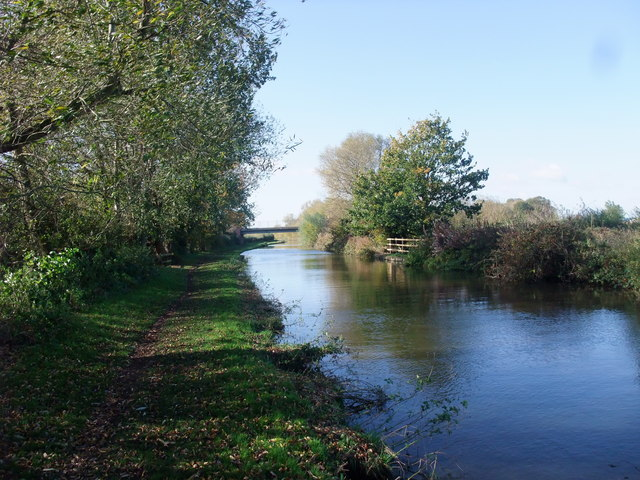 The Trent and Mersey Canal west of Willington