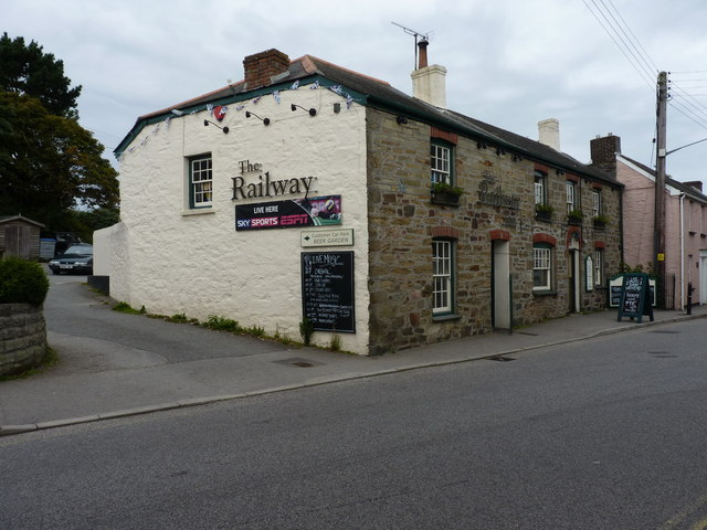The Railway Inn, St Agnes