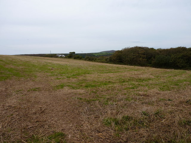 Farmland above Manor Parsley