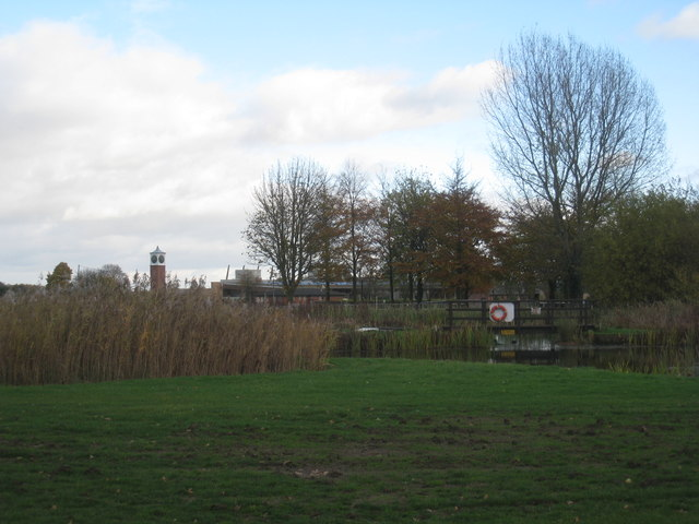 Ponds at the Lincolnshire Showground
