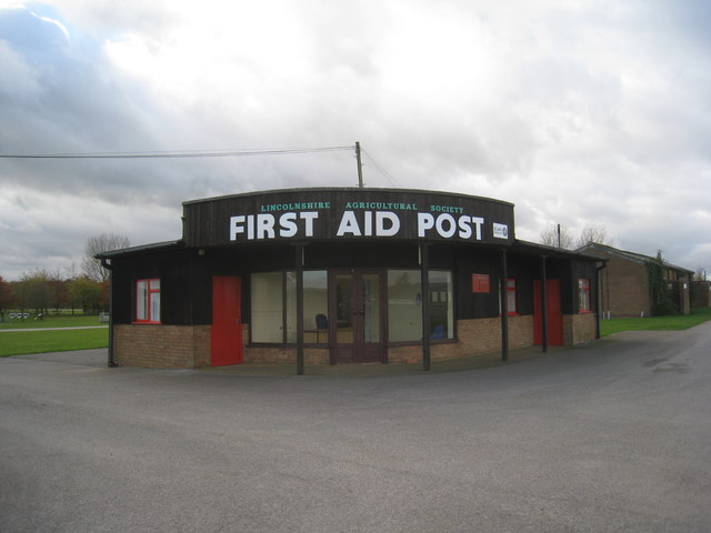 First Aid Post, Lincolnshire Showground
