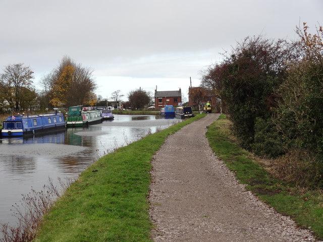 "Canal towpath near ""The Lathom Slipway"""