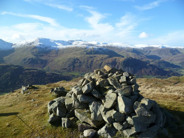 On Brock Crags