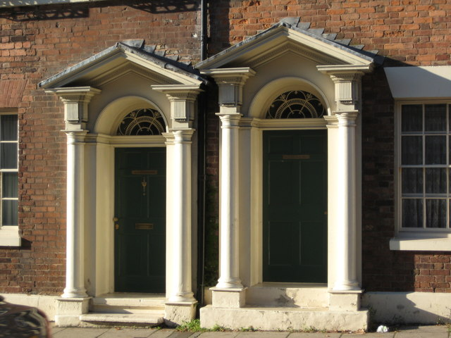 Georgian door arches