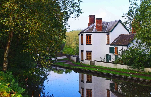 Former Lock Keeper's Cottage, Debdale Lock, near Cookley