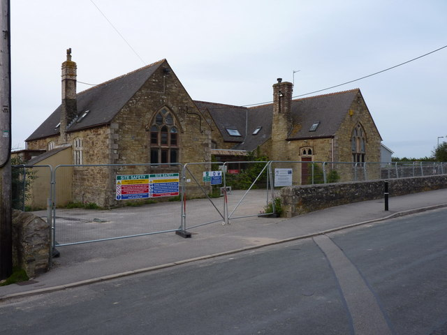 Mount Hawke's old village school