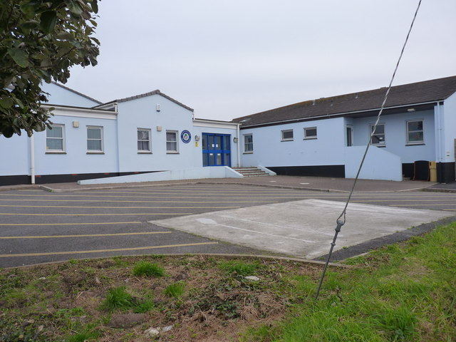 The new school in Mount Hawke