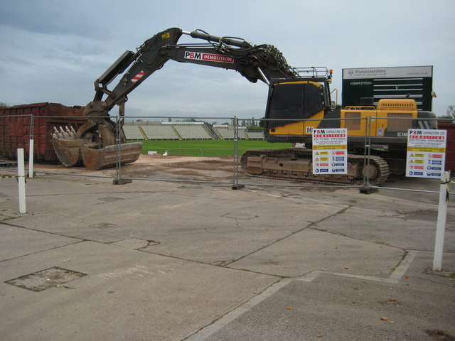 Redevelopment at Worcester County Cricket ground