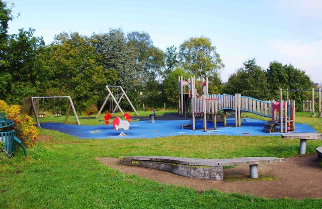Natural Play Area, Cookley Playing Fields, Cookley