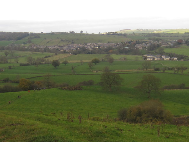 Youlgreave from the Limestone Way