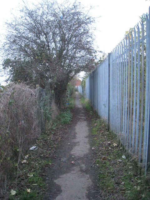 Path to Millfield Road