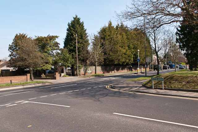 Crofton Road/Crofton Avenue junction