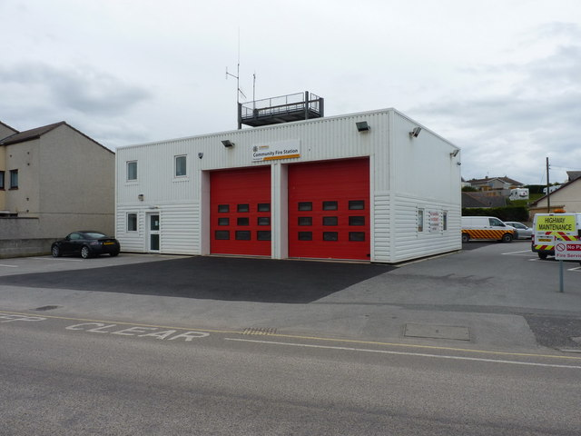 Perranporth fire station