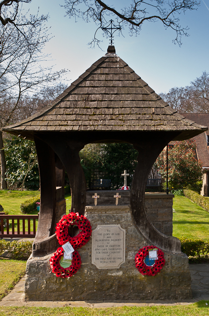 Memorial Garden, St Paul's Church, Crofton