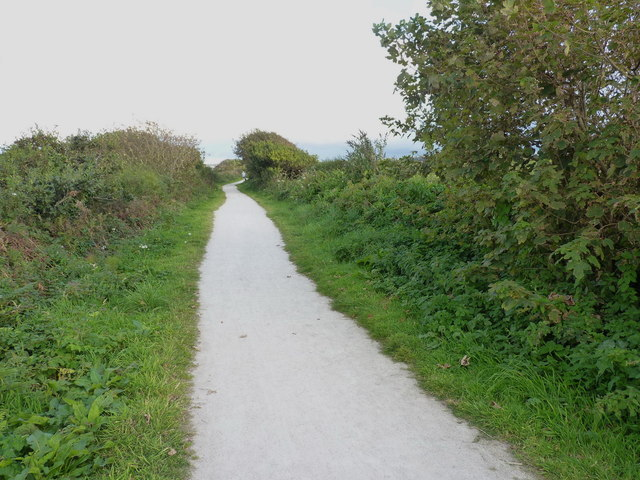 Part of the mineral tramway network above Portreath