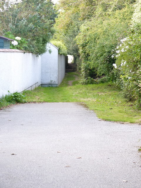 Former railway, now a footpath