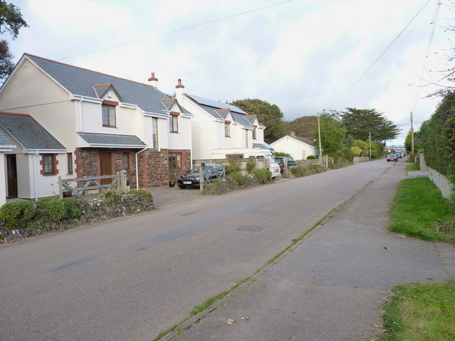 Alexandra Road into Illogan