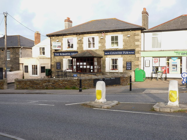 The Robartes Arms at Paynter's Lane End