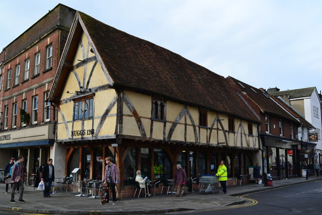 Timber framed deli and coffee shop