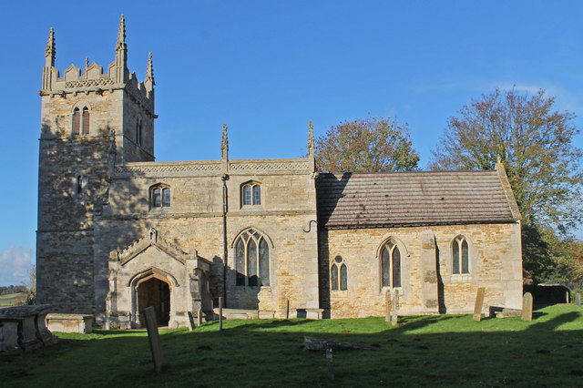 St Wilfred's church, Honington