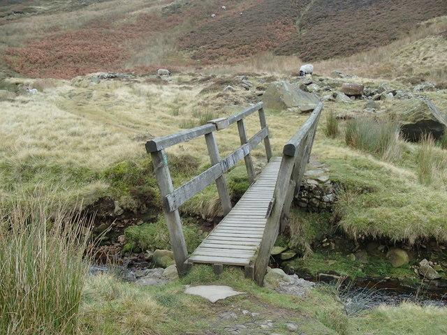 Footbridge, Doctor's Gate path