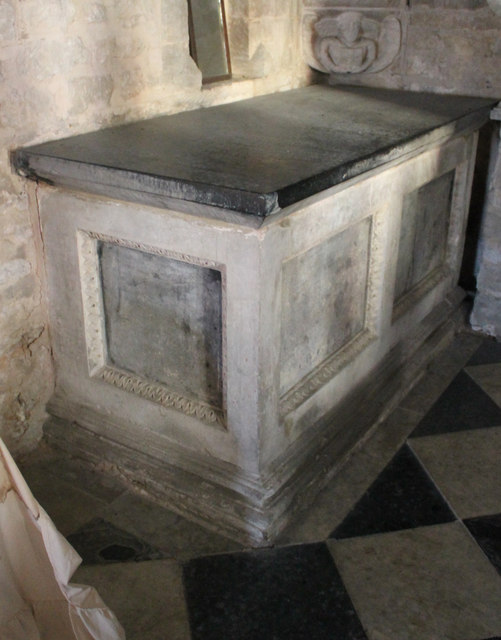 Memorial tomb to Thomas Hussey, St Wilfred's church, Honington