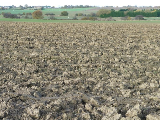 Ploughed field, west of Kinsley [1]