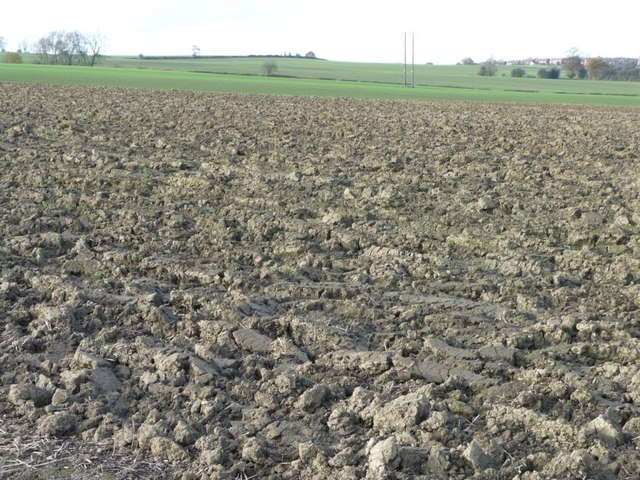 Ploughed field, west of Kinsley [2]