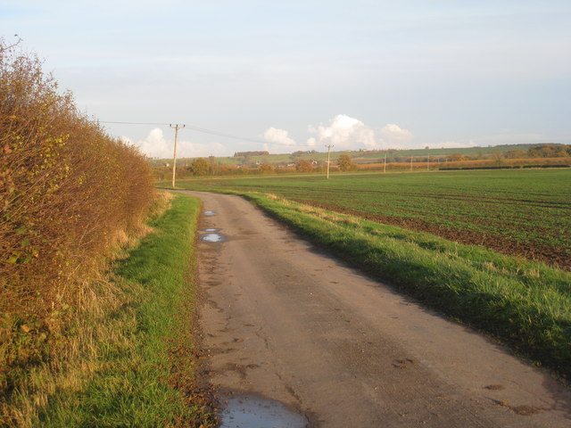 Farm track near Odder