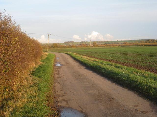 Farm track near Odder