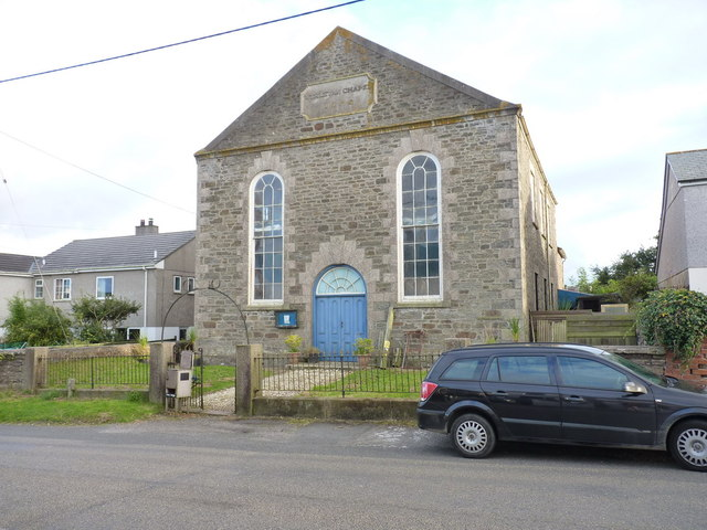 The former Vogue Beloth Wesleyan Chapel