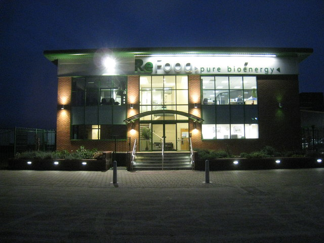 ReFood Office at night