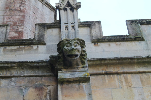 Gargoyle, St Wilfred's church, Honington