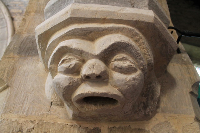 Grotesque, St Wilfred's church, Honington