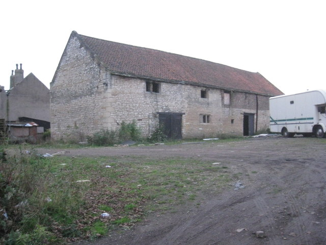 Farm buildings, Stockbridge Farm