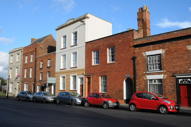 Buildings on Tewkesbury High Street