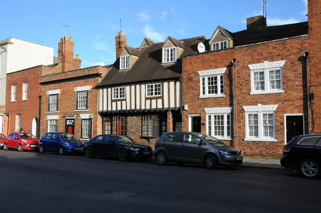 Houses on Tewkesbury High Street
